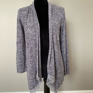 Justice Gray Sweater Cardigan